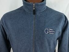 Borg Imaging Group Women's Blue Zippered Fleece North End L Large