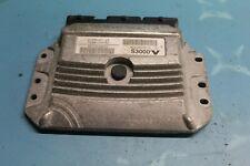 2004 RENAULT SCENIC 1.4 ENGINE CONTROL UNIT ECU 8200509516 S3000
