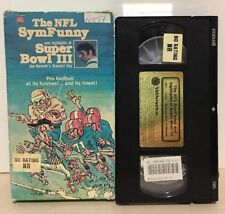 Vhs The NFL SynFunny and Highlights Of Super Bowl 3 Joe Namath's Greatest Day