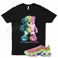 Black SMILE T Shirt for Nike Air Max Plus Volt Pink Blast Barely Vapormax Teal