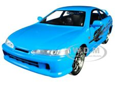 "MIA'S ACURA INTEGRA RHD BLUE ""FAST & FURIOUS "" MOVIE 1/24 DIECAST BY JADA 30739"