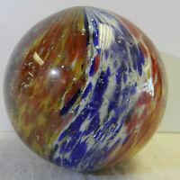 #13032m Huge 2.05 In German Handmade Onionskin Mica Marble