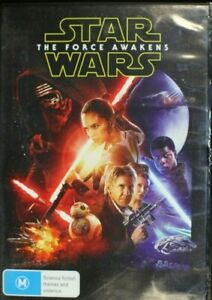 Star Wars - The Force Awakens - Daisy Ridley, - Region 4  - Preowned (D161)