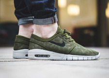 NIKE STEFAN JANOSKI MAX Trainers Gym Casual  Air SB - UK 12 (EUR 47.5) Green