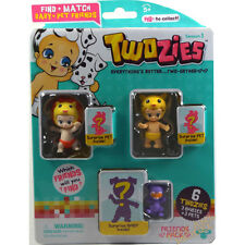 Twozies Friends Pack (3 Babies & 3 Pets) inc. Lucy and Lippy UK Seller 5 Years+