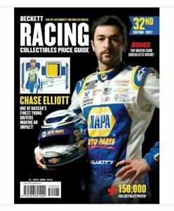 New Beckett Racing Collectibles Price Guide 32nd Edition 2021 With Chase Elliott