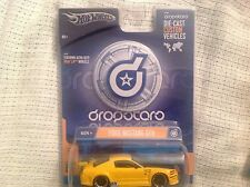 Hot Wheels Dropstars 2005 Ford Mustang GTR Yellow Road Racer '05 - 1:50 Scale
