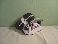 Baby/Toddler Boys NIKE White, Grey, & Red Laced Sneakers Size 5C
