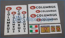 Bicycle Columbus SP Rinforzati Doppio Spessore Frame & Fork Decals Stickers Set