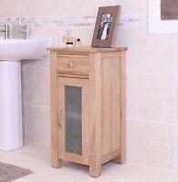 Nara SOLID OAK bathroom furniture small unit CABINET