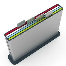 NEW EXTREME RARE Joseph Joseph STAINLESS Index Tabs CASE Chopping Cutting Board