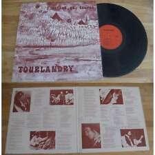 TOURLANDRY - L'Instant Qui Tourne Rare French Folk Prog LP Private Press NM