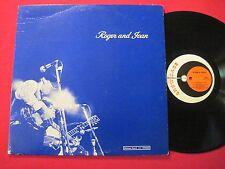 VG++ RARE PRIVATE BLUEGRASS LP - ROGER & JEAN SPRUNG - SHOWCASE S-3 STEREO