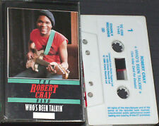 Robert Cray Band Who's Been Talkin' CASSETTE Charly R&B ‎ TC CRB 1140 Remastered