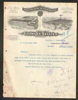 """ROUBAIX & TOURCOING (59) USINE de VETEMENTS & DRAPERIE """"Georges SELLIEZ"""" en 1912"""