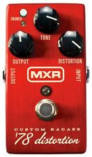 More details for jim dunlop mxr  m78 custom badass '78 distortion guitar effects pedal
