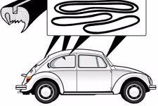 VW MAGGIOLONE 1303 BEETLE GUARNIZIONI VETRI CON SOLCO WINDOW SEAL KIT W/GROOVE