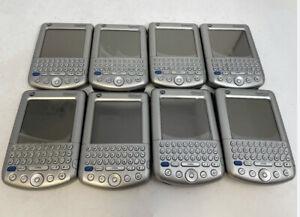 Lot 8 Palm Tungsten C Handheld PDA - WiFi - Keyboard - Digital Organizer Silver