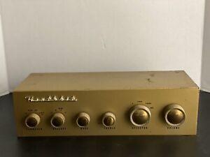 Vintage Heathkit WA-P2 Preamplifier Untested