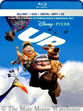 Hilarious Quirky Disney Pixar Up 3D Blu-ray DVD & Digital Copy + Documentaries