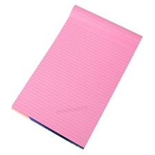Visual Memory Aid A4 Pink 100 Page Paper Notepad Refill Memo Lined Writing Pad