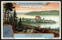 Lake St. Joseph Quebec Canada 1920s Trade Ad Card