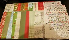 23 Sheets Of Create and Craft Christmas Cardstock