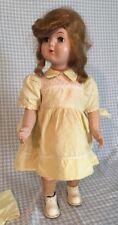 Vintage Windup Mechanical Walking Doll Hard Plastic (Not Working)  Wanda Walker