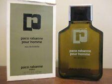 Vintage Paco Rabanne Pour Homme Eau De Toilette 8 oz. 240 ml. New in Box