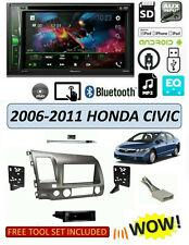 Fits 2006-2011 HONDA CIVIC Stereo Kit, PIONEER AVH-210EX BLUETOOTH DVD Receiver