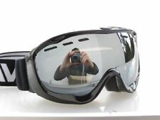 Ravs Bergbrille Skibrille Snowboardbrille Sportbrille Schneebrille Silber Disc