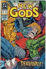 DC Comics NEW GODS #6 (July 1989) - Deathwalk!