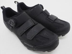 Specialized Body Geometry Comp MTB Cycling Shoes Black Size 40 EU 7.5 US 2 Bolt