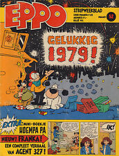 STRIPWEEKBLAD EPPO 1978 nr. 52 - MINI-BOEKJE HOEMPA PA/FRANKA/AGENT 327/STORM
