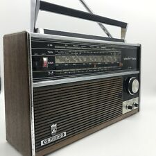 More details for vintage grundig yacht boy transistor radio yb210 tested and working