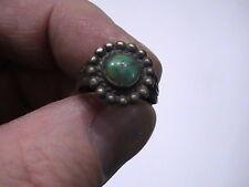 "Vintage OLD Jade? Green Ring 5/8"""