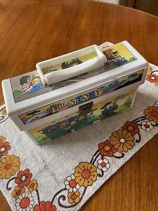 Vintage 1980's Little story Teller Cassette Tape Carry Case