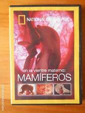 DVD EN EL VIENTRE MATERNO: MAMIFEROS - NATIONAL GEOGRAPHIC (V3)