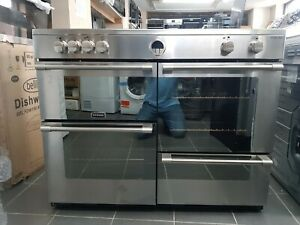 Stoves Sterling S1100Ei 110cm Electric Range Cooker With Induction Hob