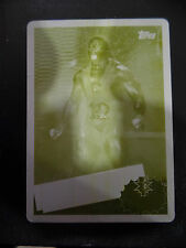 2015 TOPPS WWE HERITAGE BIG E NXT CALLED UP 1 OF 1 YELLOW PRINTING PLATE
