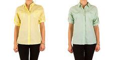 Klassische Damenblusen,-Tops & -Shirts im Blusen-Stil mit V-Ausschnitt ohne Muster