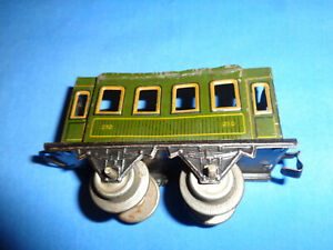 Bing #210 O Gauge Tin Passenger Car. Made in Bavaria