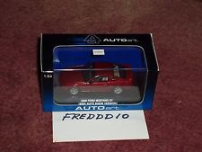 AUTO ART 2005 FORD MUSTANG GT CONCEPT COUPE 1/64 RED w DISPLAY CASE