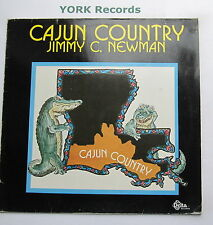 JIMMY C NEWMAN - Cajun Country - Excellent Con LP Record Intercord INT 145.058