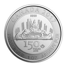 2017 Canada Voyageur Special Edition 1 oz Silver $5 Celebrating 150th SKU49098