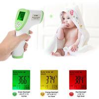 Termometro Infrarrojos LCD Sin Contacto IR Temperatura Cuerpo Frente Bebe Adulto
