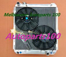 For TOYOTA HILUX radiator & Fans SURF KZN130 1KZ-TE AT/MT 1993 - 1996 Aluminum