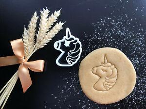 Unicorn Detailed Cookie Cutter 06 | Fondant Cake Decorating | UK