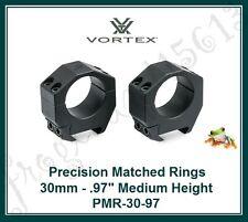 VORTEX Precision Matched Riflescope Rings - 30mm - .97 Medium Height - PMR-30-97