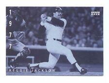 1994 UD Upper Deck REGGIE JACKSON Yankees American Epic Ken Burns Baseball Card